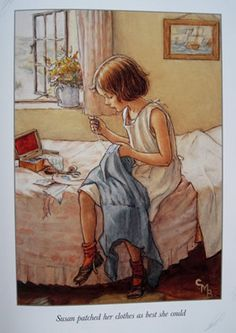 Susan from Lord of the Rushie River by Cicely Mary Barker