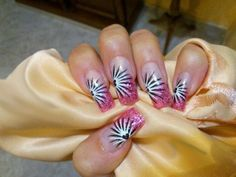 36 Romantic and Lovely Nail Art Design For Valentine's Day Pink Nail Art, Cool Nail Art, Pink Nails, Color Nails, Fancy Nails, Valentine's Day Nail Designs, Cute Nail Art Designs, Hot Nails, Hair And Nails
