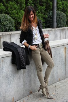 Western in the city | mytenida en stylelovely.com