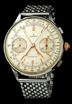 1942 Rolex Split Seconds Chronograph, 1/8 known to exist, Reference 4113, sold for 1.16M