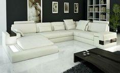 Modern design big U shape sofa sale living room sofa sets 9107 - from Alibaba.com
