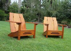 Greene U0026 Greene Adirondack Chair   The Wood Whisperer Guild