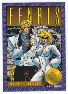 X-Men Series 2 - Fenris # 64 Skybox 1993