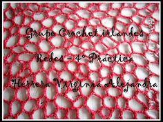 Crochet irlandés: Aprende todos los secretos para tejer una red irregular paso a paso. - YouTube