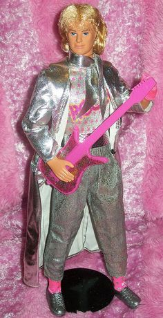 Barbie and the Rockers Ken®Doll -- even cooler than Derek because he had REAL HAIR!!