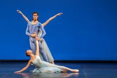 """George Balanchine's """"#Serenade"""". Photo by Lidia Crisafulli.  #ballet #balletto #choreography #stagephotography"""