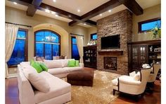 Living room, this one looks like a designs house design home design design ideas interior Design Living Room, Home Living Room, Living Area, Design Room, Style At Home, Veranda Interiors, Houses Architecture, Decoration Inspiration, Design Case