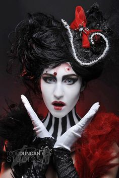 Tim Burton Beauty Makeup Competition by ~JessicaMartinMakeup on deviantART
