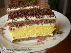 Hungarian Desserts, Croatian Recipes, Sweet And Salty, Vanilla Cake, Tiramisu, Cookie Recipes, Sweets, Cookies, Ethnic Recipes