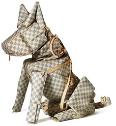 Billie Achilleos for Louis Vuitton >3 Damier Azur