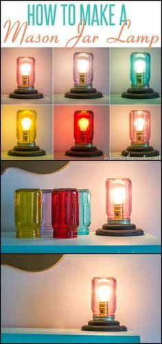 Here's a lamp you can easily alter to set the ambiance for your room! It's also easy to DIY! ;) http://diyprojects.ideas2live4.com/2016/01/07/how-to-make-a-mason-jar-lamp/ You can use it as a bedside table lamp, a study table lamp (just use a clear mason jar), or decorative lighting on a shelf or anywhere in your living room. Its simplicity makes it suitable for almost any lighting purpose! Do you want one or two of this easy DIY lamp?