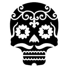 scull stencils | Sugar Skull Stencils | New Tattoo