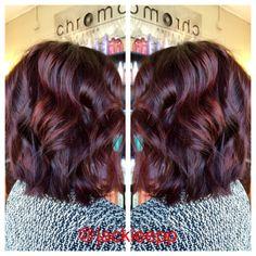 Mahogany hair