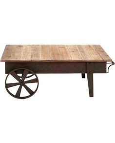 Reclaimed wood and aged iron {love}