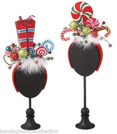 Christmas Headbands - Candy Headbands - Set of Two Midwes. Grinch Party, Le Grinch, Grinch Christmas Party, Tacky Christmas, Office Christmas, Christmas Costumes, Christmas Presents, Holiday Fun, Christmas Crafts