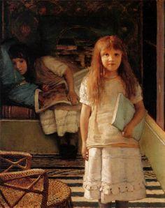 Sir Lawrence Alma-Tadema - Unsere Ecke, 1873