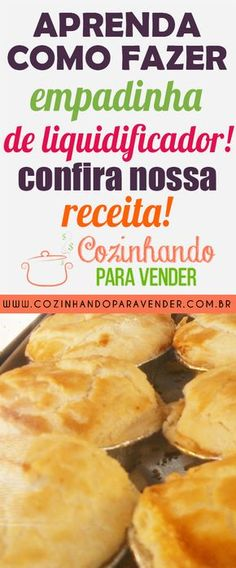 CLICA NO PIN E CONFIRA NOSSA RECEITA COMPLETA DE EMPADINHA DE LIQUIDIFICADOR! receita de empadinha de liquidificador, receita, de, empadinha, de, liquidificador, receita de empadinha, empadinha facil, empadinha de liquidificador, empadinha de frango, como fazer empadinhas #receitadeempadinhadeliquidificador #receita #de #empadinha #de #liquidificador #receitadeempadinha #empadinhafacil #empadinhadeliquidificador #empadinhadefrango #comofazerempadinhas How To Make Patties, Pizza Facil, Pizza Poster, A Food, Food And Drink, Margarita Pizza, Pizza Logo, Vegetarian Pizza, Chicken Patties