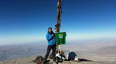 Volcán Misti en Perú ...gente gigante !!!