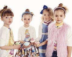 MONNALISA Fall Winter 2016 #Monnalisa #DisneyAlice #fashion #kids #childrenswear #newcollection #girl #style #winter #aliceinwonderland #skirt #tshirt #cupcake #hairaccessory #dress #ecofur