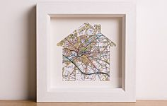 Proud of your local area? Got special memories of a location in the UK? Our Personalised House Map will make a truly awesome gift. A personal and stylish piece of art, you may want to show the family home or the house you grew up in. Alternatively, it's a unique gift for someone who's just moved into their new home. Not only will it look great in their new abode, but it'll come in handy when they want to go and explore the area!