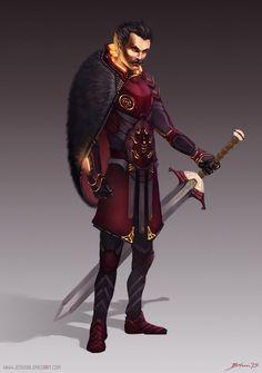 Matthew Mcconaughey - SciFi Roman Commander by ChuchuaN.deviantart.com on @DeviantArt