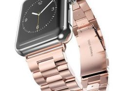 BuySShow Apple Watch Band, Iwatch Band Solid Stainless Steel Metal Watch Strap Bracelet Replacement with Durable Folding Clasp connector (Rose-gold Apple Watch 42mm, Apple Watch Serie 1, Apple Watch Stainless Steel, Stainless Steel Bracelet, Rose Gold Apple Watch, Gold Watch, Smartwatch, Bracelet Apple Watch, Iphone