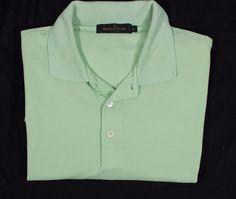 Bugatchi Uomo L Rayon Button Front Shirt Mens L Kiwi Lime Free Shipping!!!! #BugatchiUomo #ButtonFront