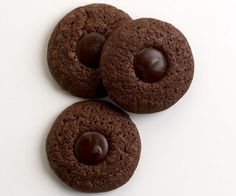 Double Dark Chocolate Thumbprints