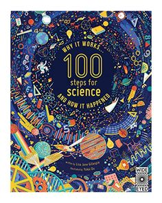 100 Steps For Science on Behance. Illustration with different science elements and icons. Poster Design, Graphic Design, Science Words, Easy Science, Preschool Science, Elementary Science, Science Fair, Science Fiction, Buch Design