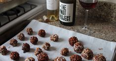Say I Love You With Homemade Chocolate Truffles Soaked In Wine [Recipe]