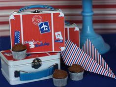 Airplane themed favors