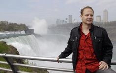 Nick Wallenda plans to cross Niagara Falls on a high wire on June 15.I am watching him cross now! He is amazing! How scary!