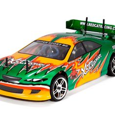 Lightning STR 1/10 Scale Nitro On Road RC Race Car $170.00 http://hobbyzobby.com/product/lightning-str-110-scale-nitro-on-road-rc-race-car-blue-green