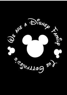 Disney Stick Figure Family Vehicle Van Car Decals Mickey ...