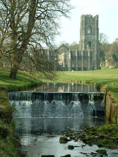 Fountains Abbey, Yorkshire, England
