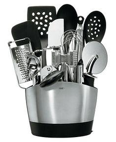OXO Kitchen Tools, 15 Piece Set - Utensils & Utensil Sets - Kitchen - Macy's