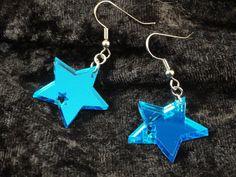 Star within a Star Acrylic Earrings