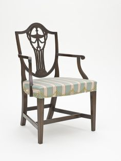 1790-1800 American (Massachusetts) Armchair at the Los Angeles County Museum of Art, Los Angeles