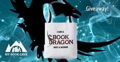 Book Dragon Bag Giveaway!Great site for free/cheap books and you can win this-MyBook Cave.com!! go there!