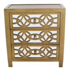 You'll love the Gold Glam Slam 3 Drawer Cabinet at Wayfair - Great Deals on all Furniture products with Free Shipping on most stuff, even the big stuff.