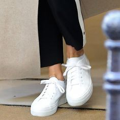 "Jennifer Aniston's Common Projects ""Tournament"" sneakers."