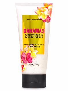Banana trees gently sway under clear blue skies. Passionfruit blossoms fill the air. Grab a bungalow and bask in the beauty of this fresh tropical fruit fragrance. Our passionfruit extract body scrub exfoliates to leave skin feeling soft & smooth. Bath N Body Works, Bath And Body, Body Soap, Body Lotion, Best Home Fragrance, Banana Flower, Colorful Fruit, Perfume, Body Scrub