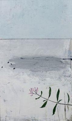 Paul Fry Paintings Moving down Stream II Painting