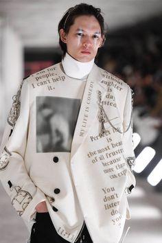 Fashion Art, Runway Fashion, High Fashion, Fashion Outfits, Womens Fashion, Fashion Design, Fashion Trends, Men Fashion Show, Mode Alternative