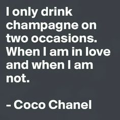 Love this Coco quote. Priscilla Mae et al