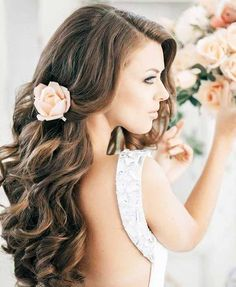 2014 BRIDAL HAIRTYLES | long wavy wedding hairstyles 2014