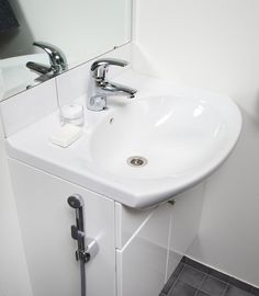Oras Bidetta. A faucet with a multi-purpose hand shower: Use it on your toilet bowl for an effective bidet shower.