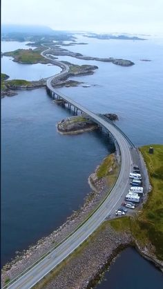 - Beautiful roads in Norway. The famous Norway Atlantic Road. Beautiful Roads, Beautiful Places To Travel, Beautiful Norway, Road Trip Europe, Travel Europe, Usa Travel, Travel Packing, Baby Travel, Mexico Travel