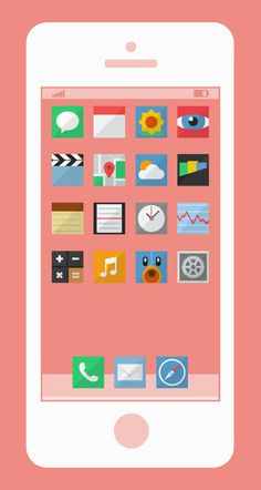 40 Beautiful Flat Icon Sets For Web UI Design | deSign of the Times | Scoop.it