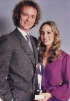 Genie Francis and Tony Geary  1980  Soap Opera Digest Award. - general-hospital-80s Photo